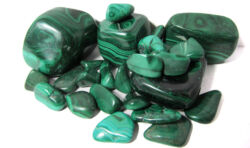 malachit ásvány karkötő